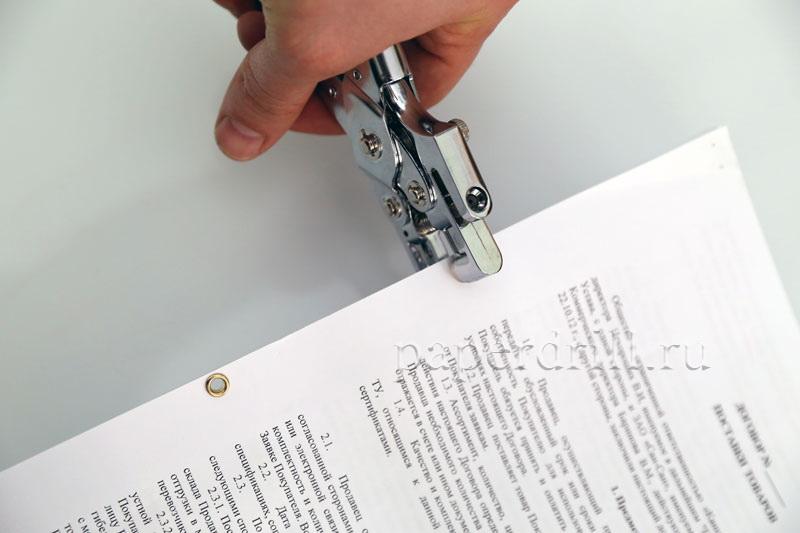 Чем можно сшить документы 45